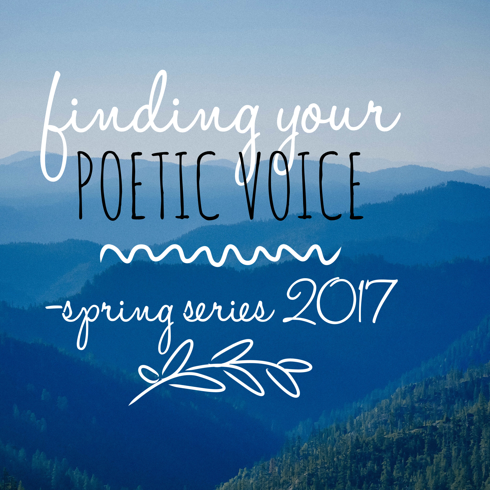 Finding Your Poetic Voice