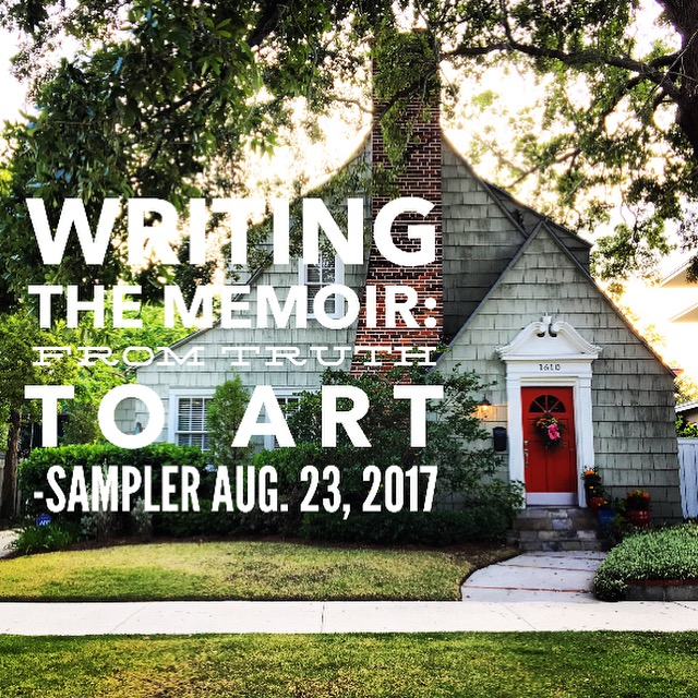New Sampler Class: Writing the Memoir