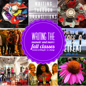 Writing the Memoir: New Fall Classes