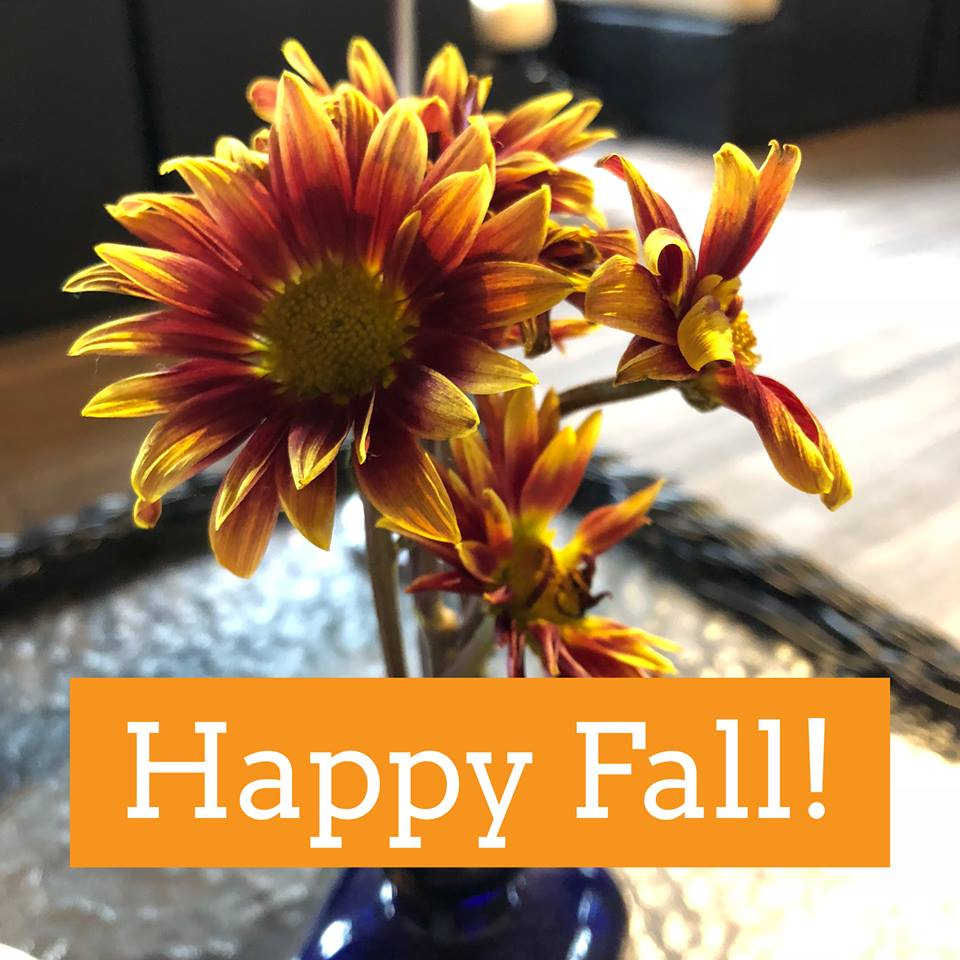 Fall Offers Abundant Opportunities to Write (Newsletter)
