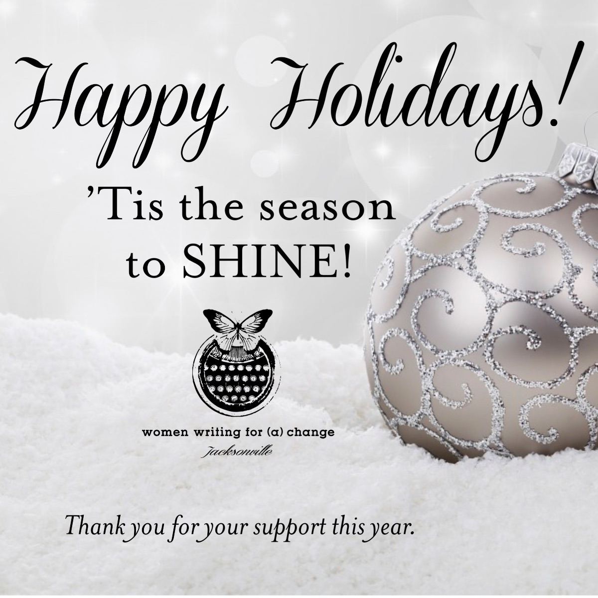 Happy Holidays! Plus Fall Recap and Sneak Peak at Spring Programs