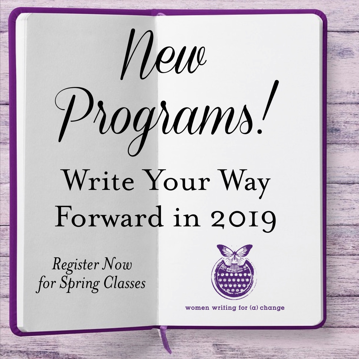 New Year, New Beginnings! Register Now for Spring Classes!